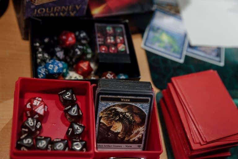 Spieleproduktion von Magic the Gathering