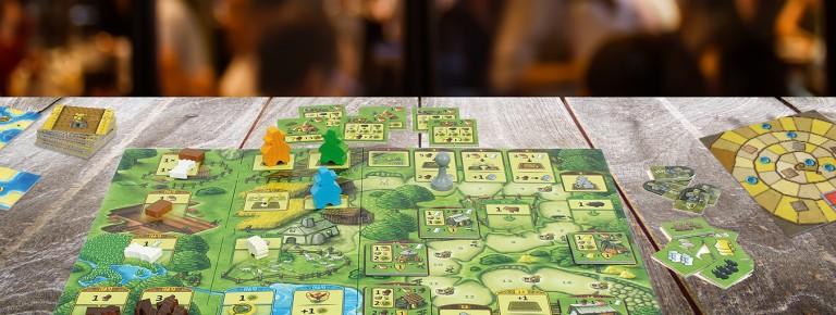 Spielplan Tableaus Detail