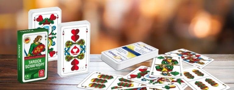 Portfolio Detailseiten Traditionelle Doppelkopf Karten