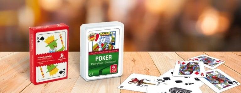 Portfolio Detailseiten Traditionelle Bridge BJ Poker Karten