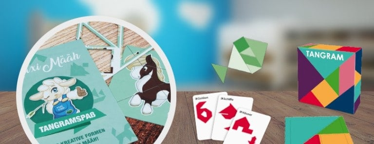 Jugend/Erwachsene Spiel Tangram