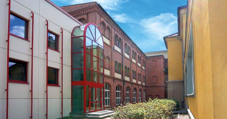 Spielkartenfabrik Altenburg Durchgang Villa