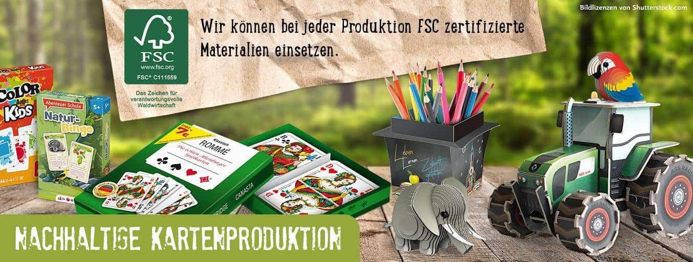 Nachhaltigkeit - Spielzeug aus Papier - FSC   Paper World